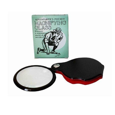 Adventure's Pocket Magnifying Glass