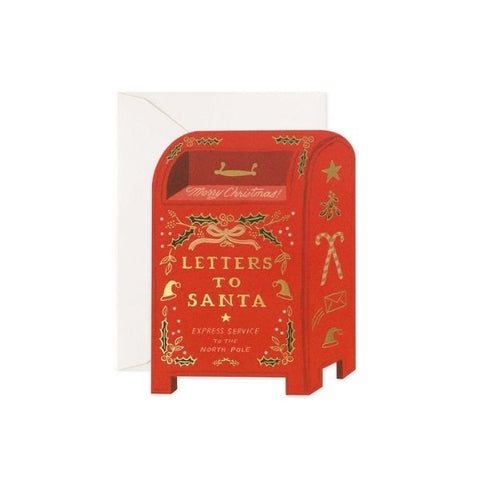 Rifle paper Co Single Card Letters To Santa