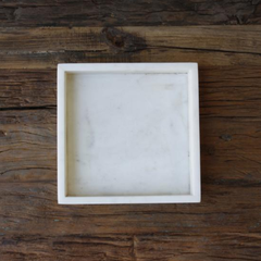 Marble Square Tray - The Corner Booth