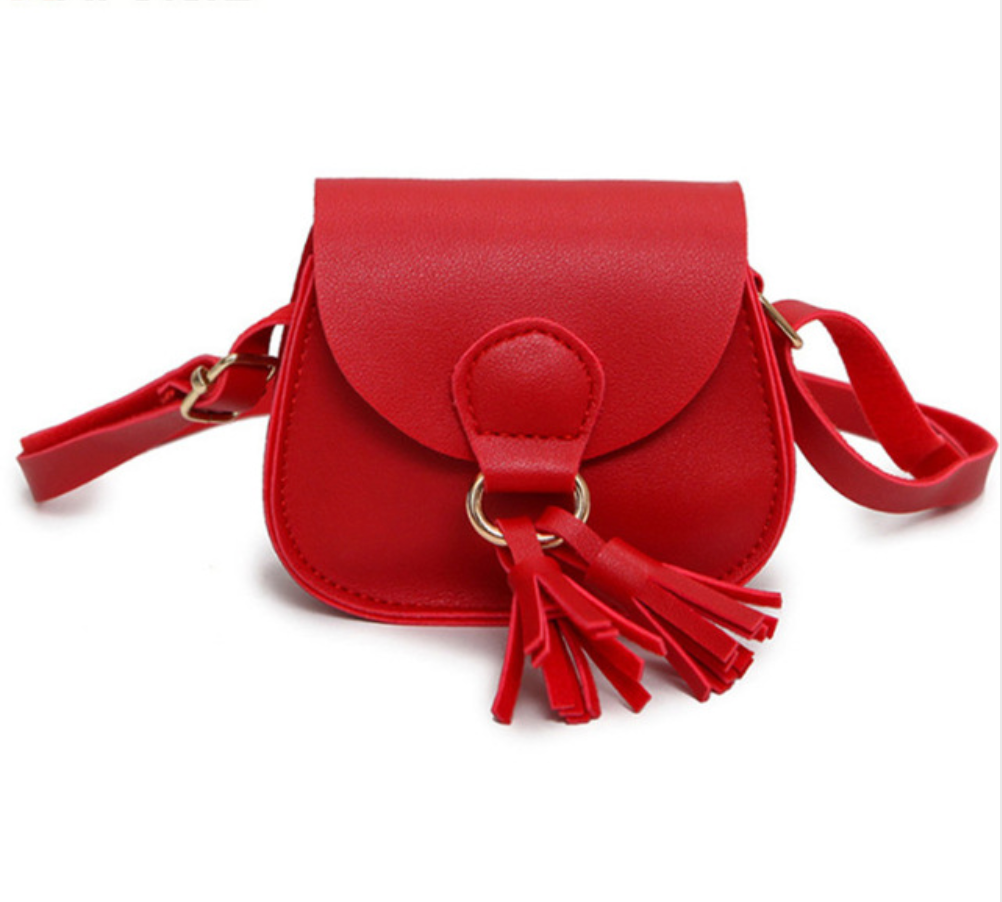 Girls Tassel Handbag - The Corner Booth