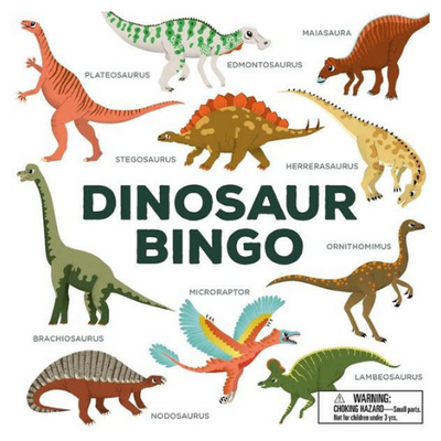 Dinosaur Bingo - The Corner Booth