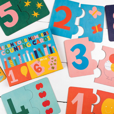 Learn Your Numbers Jigsaw Card