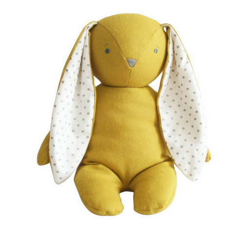 Alimrose Bobby Floppy Bunny in Butterscotch Linen - The Corner Booth