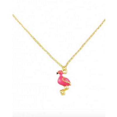 Tiger Tree Flirty Flamingo Necklace