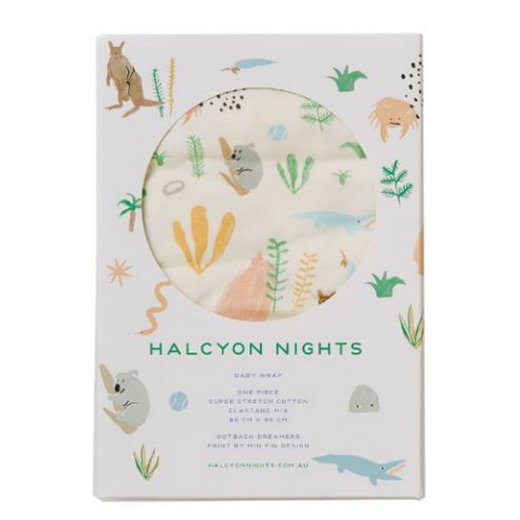 Halcyon Nights Outback Dreamers Wrap