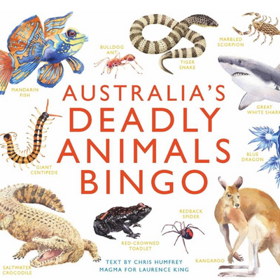 Australia's Deadly Animal Bingo