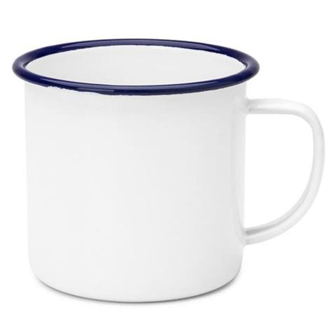 Falcon Enamel Mug - The Corner Booth