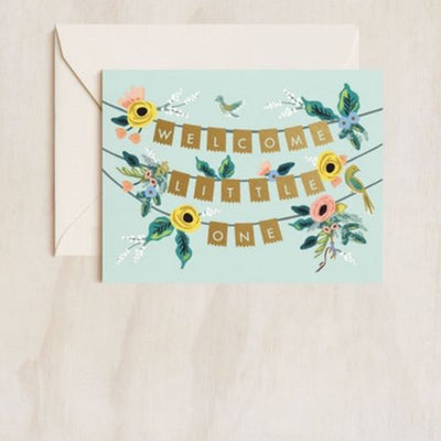 Rifle Paper Co Single Card Welcome Garland