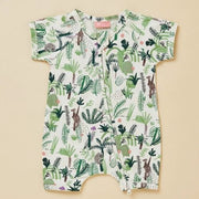 Halcyon Nights Fern Gully Short Sleeve Zip Suit