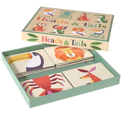 Heads and Tails Game Creatures - The Corner Booth