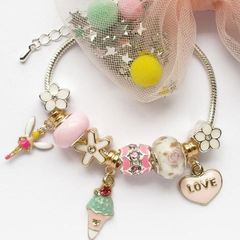 Lauren Hinkley Sugar Plum Charm Bracelet