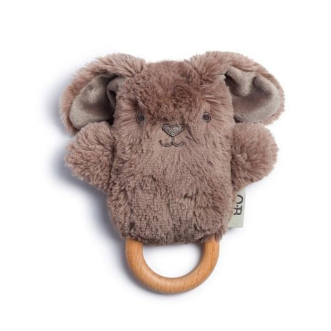 OB Designs Byron Bunny Dingaring Teether