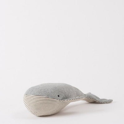 Baby Wilfred Whale in Grey