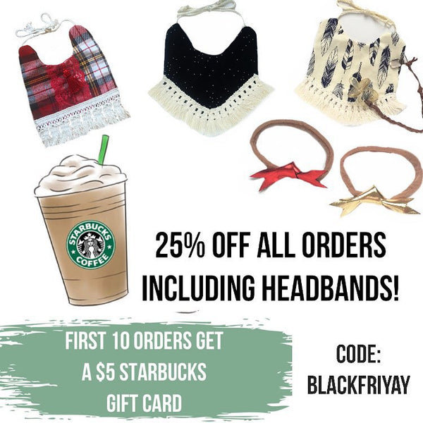 Free $5 Starbucks Gift Card for First 10 Orders