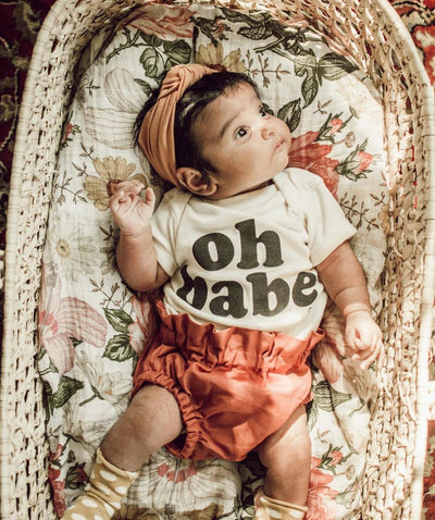 Infant Oh babe onesie