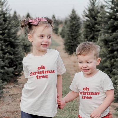Unisex Kids Tee - Oh Christmas tree