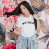 Mother white tee