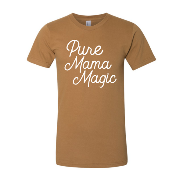 Women's Caramel Tee - Pure Mama Magic
