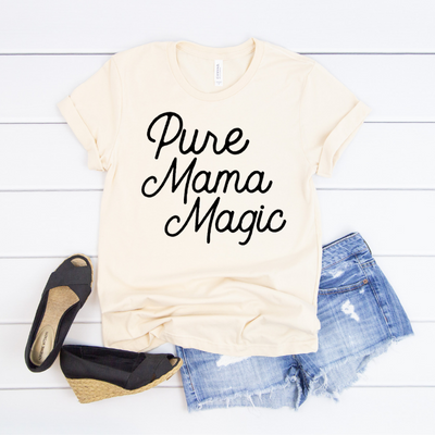 Pure Mama Magic Creme Tee Full Outfit