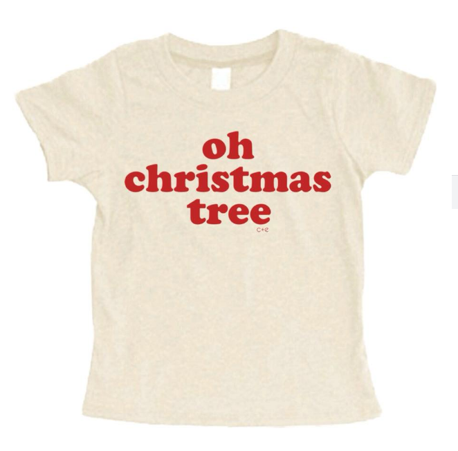 Kids tee - Oh Christmas tree