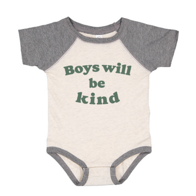 Boys will be kind