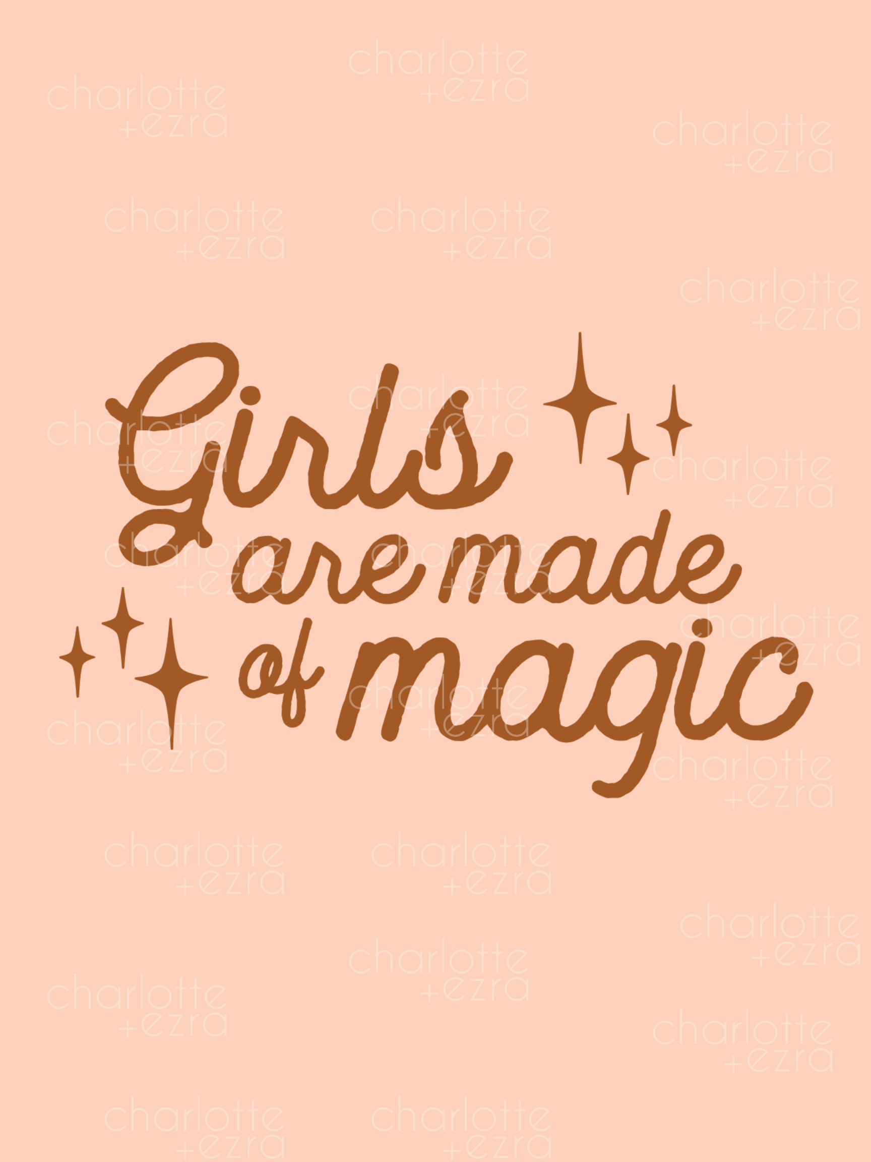 Girls are made of magic printable