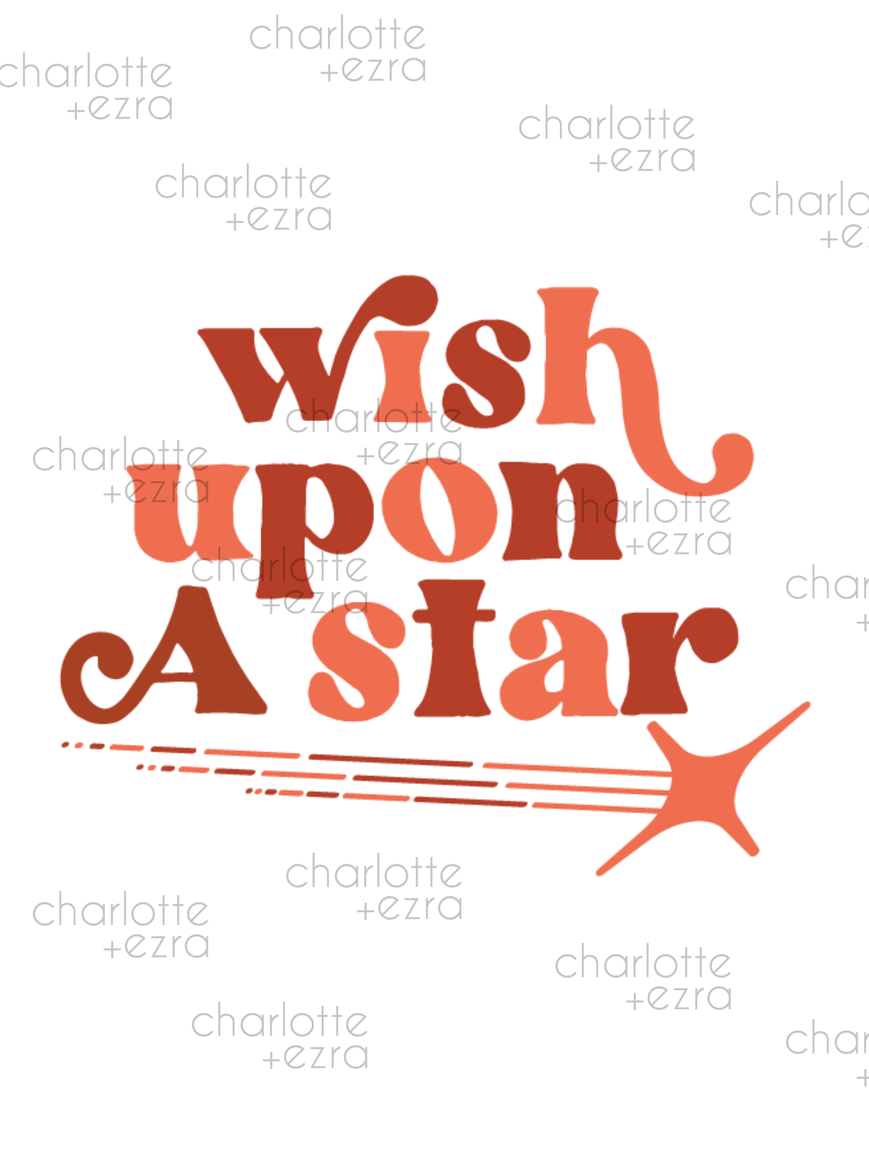 Wish upon a star digital print
