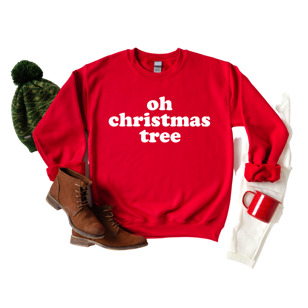 Oh Christmas Tree adult sweashirt