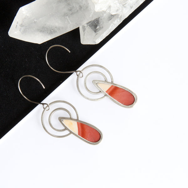 Conchoidal Earrings