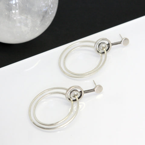 Aerial Hoop Earrings