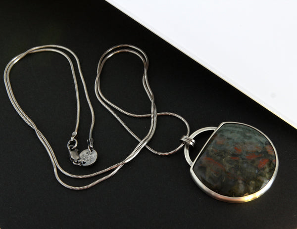Kopros Lithos Necklace - Fossil Dinosaur Poop