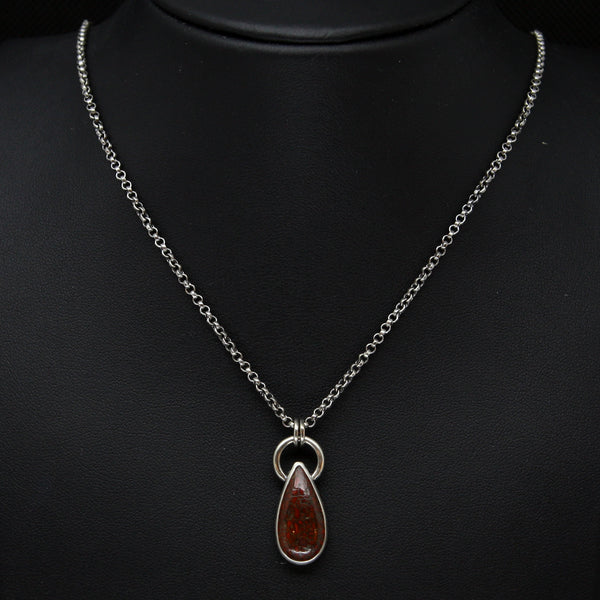 Prehistoric Tears Necklace