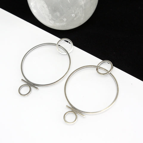 Disclosure Hoop Earrings