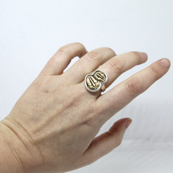 Double Trilobite Ring - Pre Order