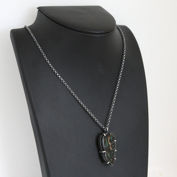 Equus Necklace - Fossil Horse Tooth