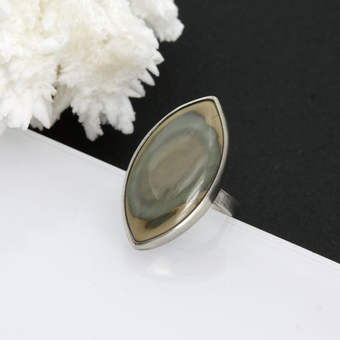 Concentric Ring - Imperial Jasper - Size 8.5