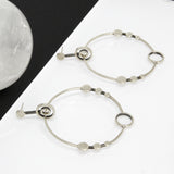 Sacred Sites Hoop Earrings