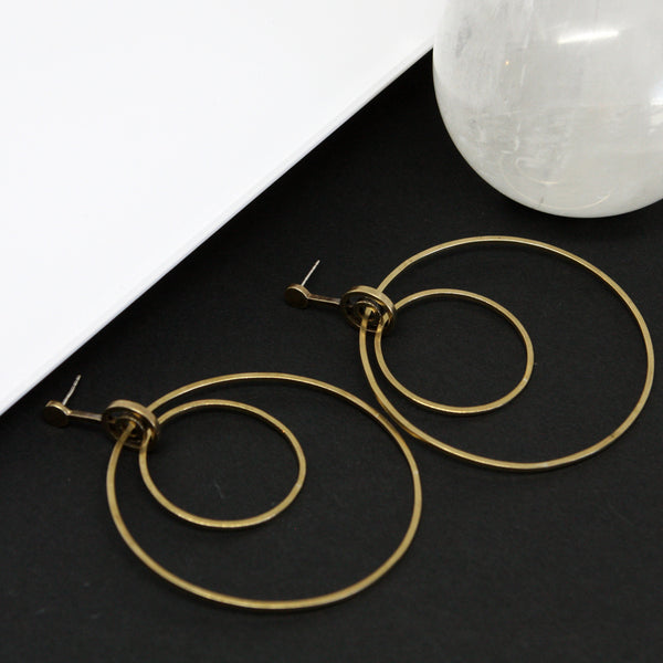 XL Aerial Hoop Earrings
