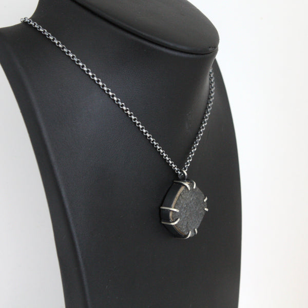 Trionyx Necklace - Fossil Turtle Shell