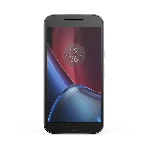Motorola Moto G4 Plus, XT1644, 16GB, GSM/CDMA Factory Unlocked, Certified Pre-Owned (Black)