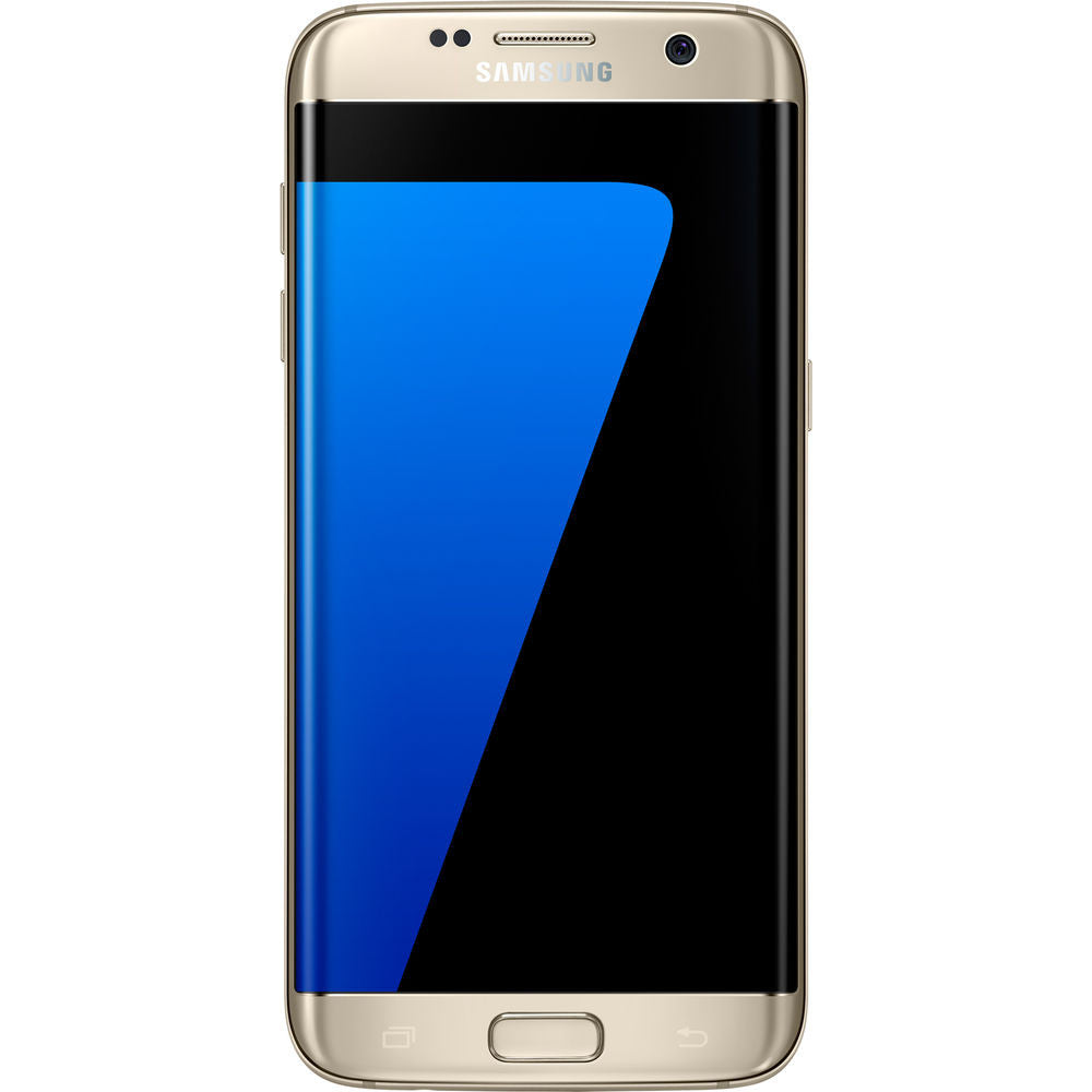 Samsung Galaxy S7 Edge G935U, 32GB, Factory Unlocked GSM/CDMA, Certified Pre-Owned (Gold)
