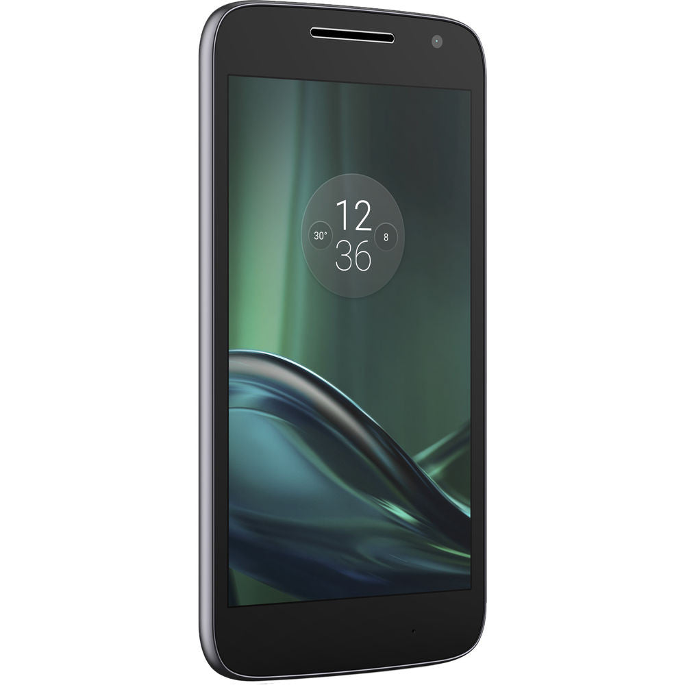 Motorola Moto G4 Play, XT1607, 16GB, Factory Unlocked, Certified Pre-Owned (Black)