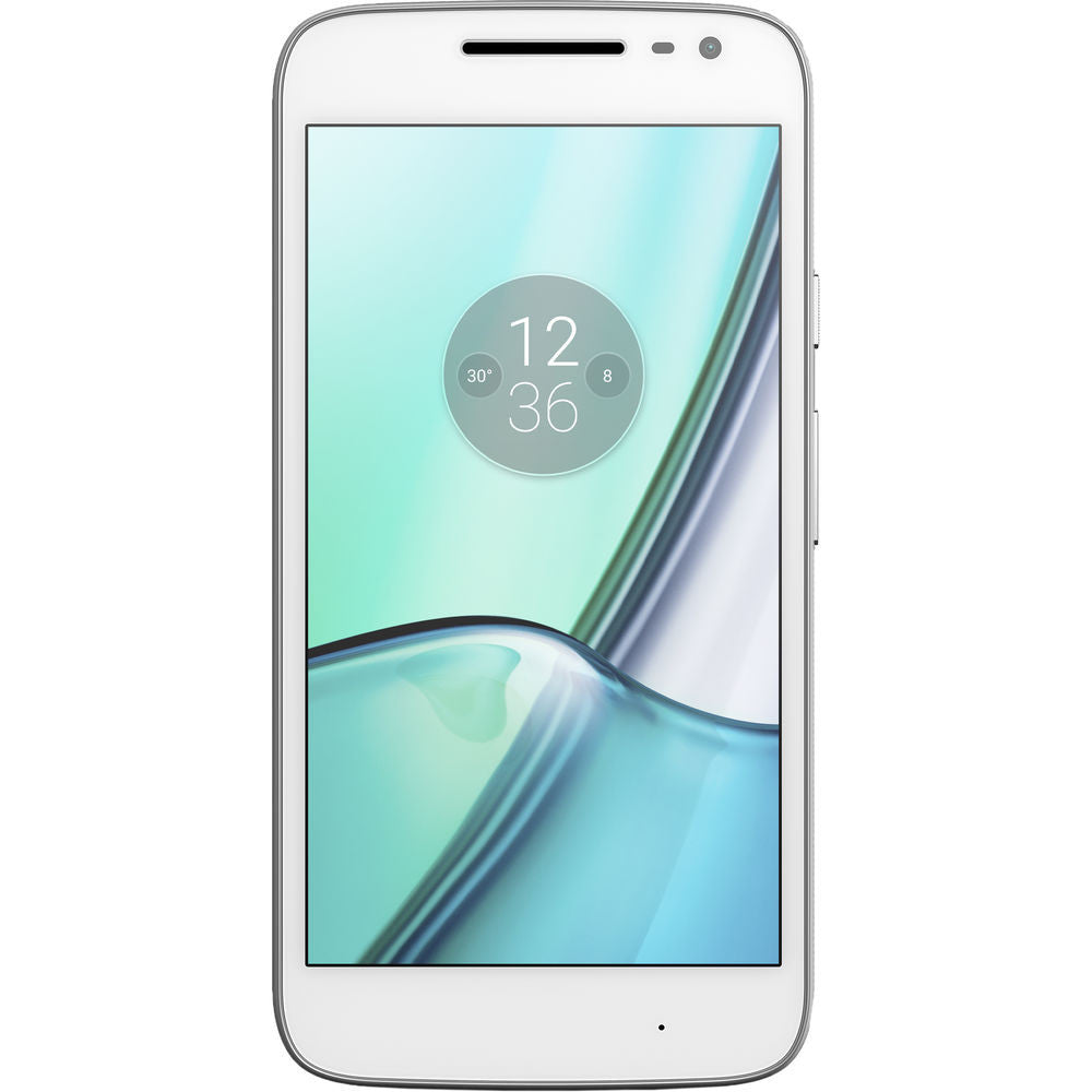 Motorola Moto G4 Play, XT1607, 16GB, GSM/CDMA Factory Unlocked, Certified Pre-Owned (White)