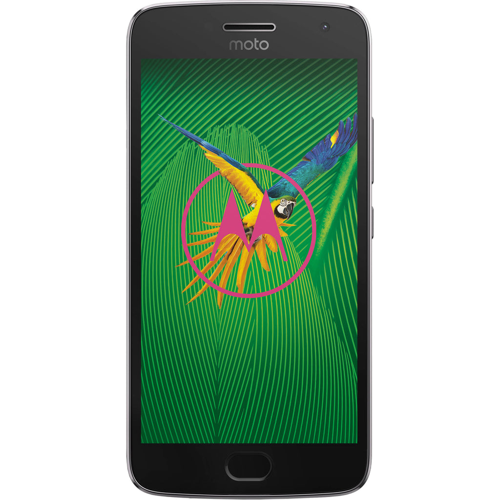 Motorola Moto G5 Plus, XT1687, 32GB, Factory Unlocked, Certified Pre-Owned (Lunar Gray)