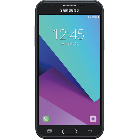Samsung Galaxy J3 (2017), J327U, 16GB, Factory Unlocked, Certified Pre-Owned (Black)