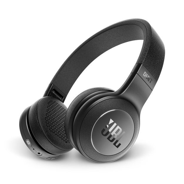 JBL Duet BT Wireless On-Ear Headphones, NewItem (Black))