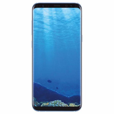 Samsung Galaxy S8+, G955U, 64GB, Factory Unlocked, Certified Pre-Owned (Coral Blue)