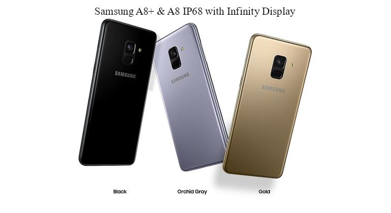 Samsung A8+ & A8 IP68 available