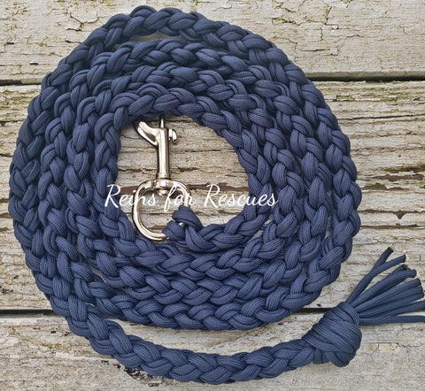 Navy Lead Rope