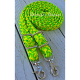 Tropical & Yellow Adjustable Riding Reins